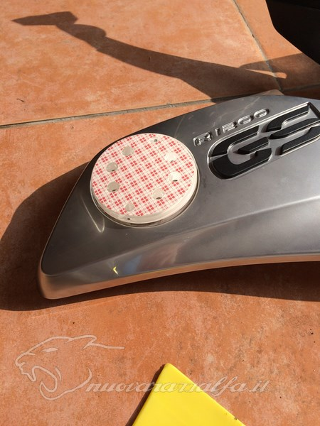 BMW K50 R1200GS LC Frecce Z4 style. Max45539