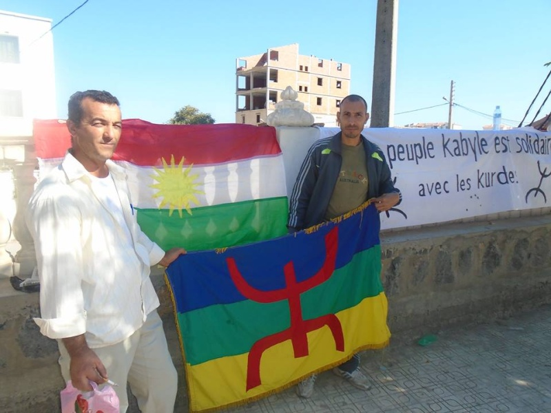 Journée mondiale de soutien à «KOBANÊ» : Manifestation le 1er novembre 2014 à Aokas 10408910