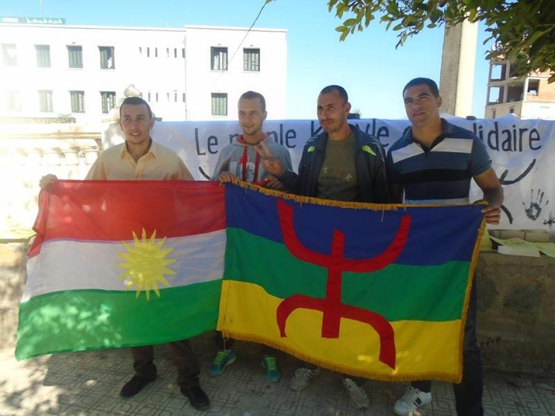 Journée mondiale de soutien à «KOBANÊ» : Manifestation le 1er novembre 2014 à Aokas 10408911