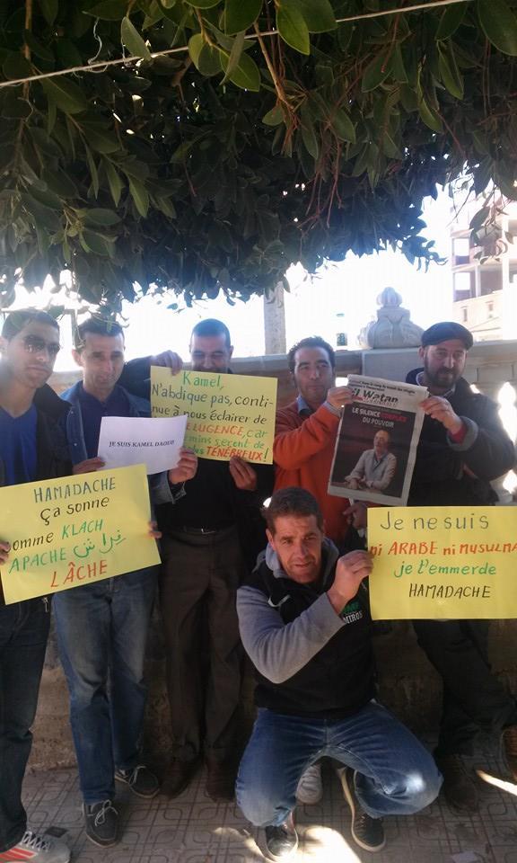 Rassemblement de solidarité avec Kamel Daoud à Aokas mardi 23 decembre 2014 - Page 2 1128