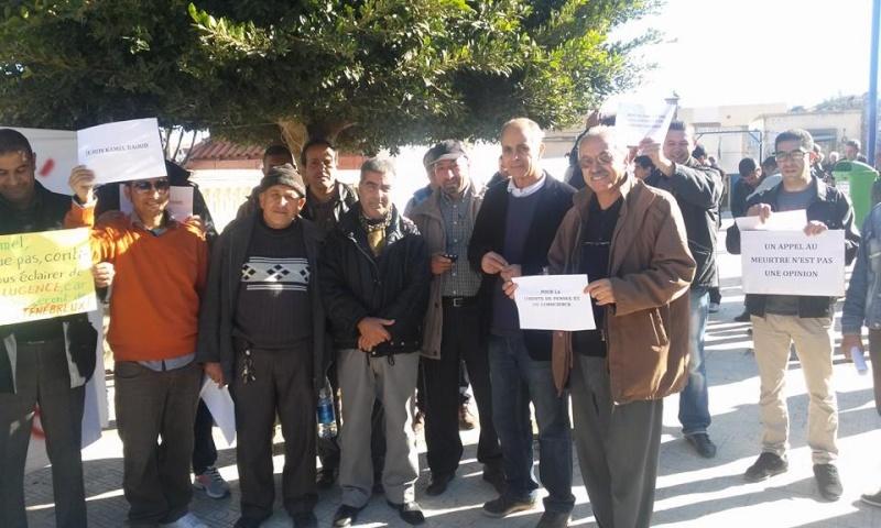 Rassemblement de solidarité avec Kamel Daoud à Aokas mardi 23 decembre 2014 - Page 2 1135
