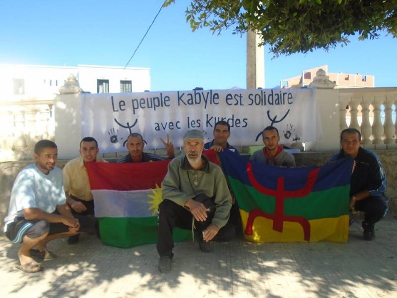 Journée mondiale de soutien à «KOBANÊ» : Manifestation le 1er novembre 2014 à Aokas Kobane11