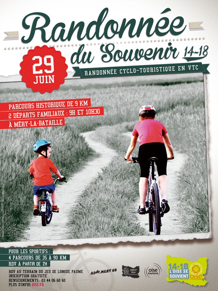 Randonnée du Souvenir 14-18, Méry-la-Bataille (60), le dimanche 29 juin 2014. 8891910