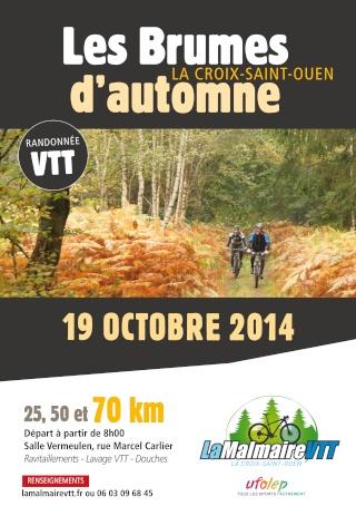 Les Brumes d'automne, La Croix Saint Ouen (60), le 19 octobre 2014 Affich18