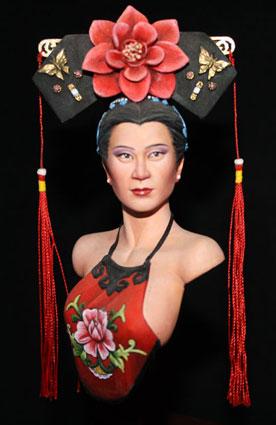 Qing Dynasty Woman  Model10