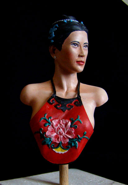 Qing Dynasty Woman  Woman310