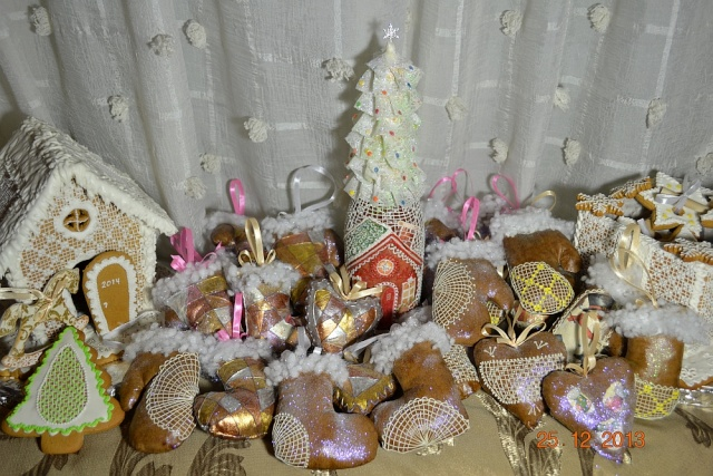 """Пряничные "" игрушки 312"