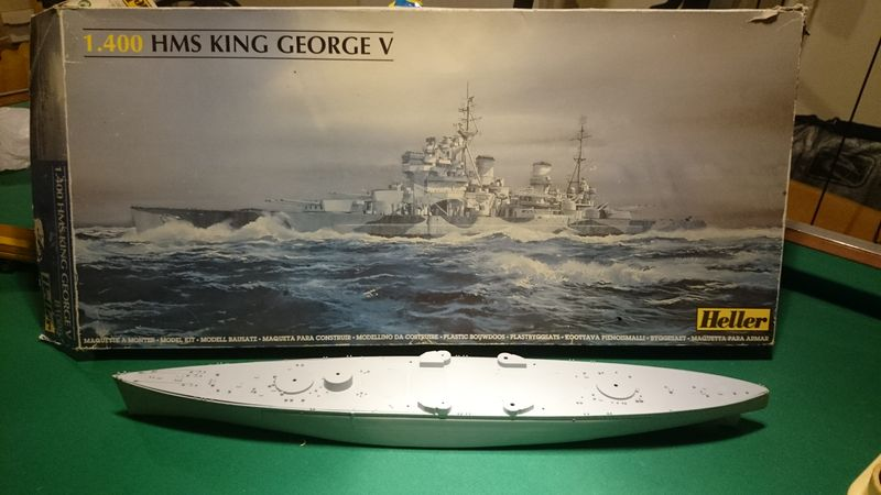 king georgesV - King George V - 1/400 - Heller  Kgv10