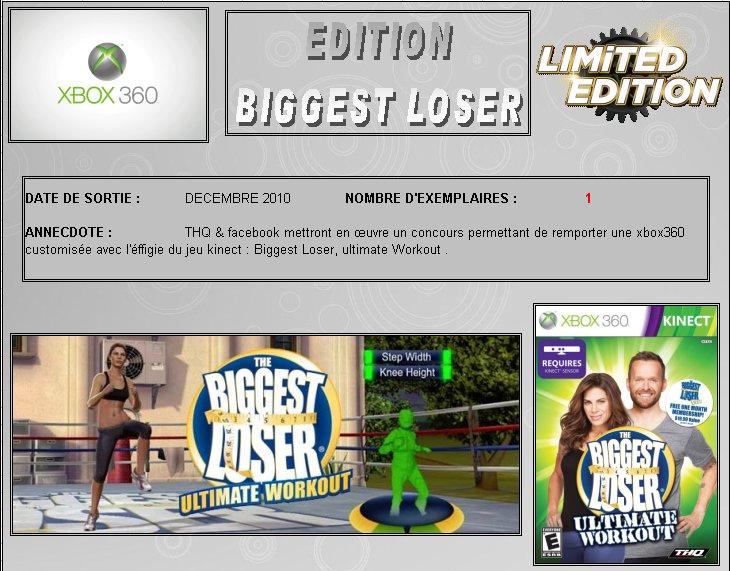 XBOX 360 : Edition  BIGGEST LOSER Bigges10