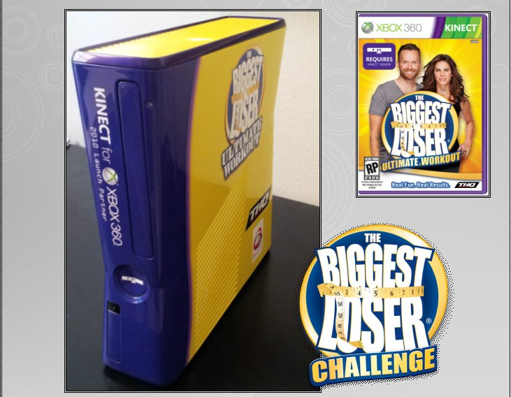 XBOX 360 : Edition  BIGGEST LOSER Bigges12