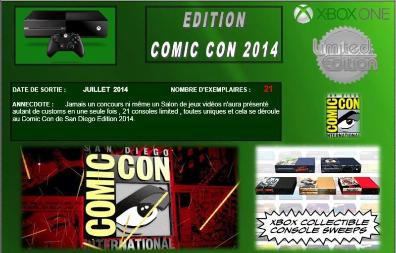 XBOX ONE : Edition COMIC CON 2014 Comicc10