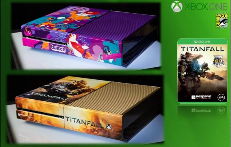 XBOX ONE : Edition COMIC CON 2014 Comicc12