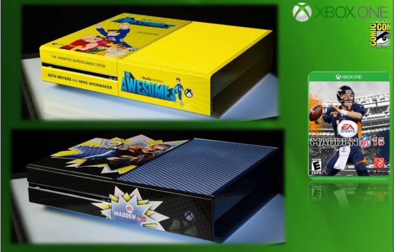 XBOX ONE : Edition COMIC CON 2014 Comicc14