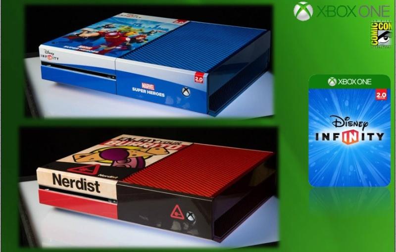XBOX ONE : Edition COMIC CON 2014 Comicc19