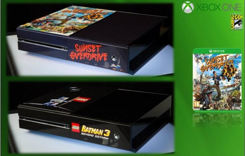 XBOX ONE : Edition COMIC CON 2014 Comicc21
