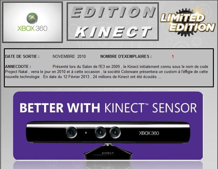 XBOX 360 : Edition KINECT Kinect10
