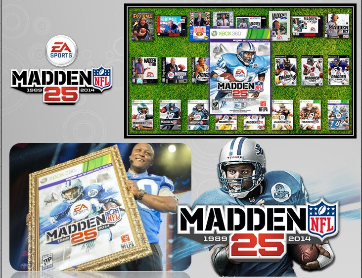 XBOX 360 : Edition MADDEN 25th Madden11