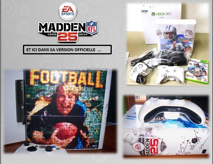 XBOX 360 : Edition MADDEN 25th Madden13