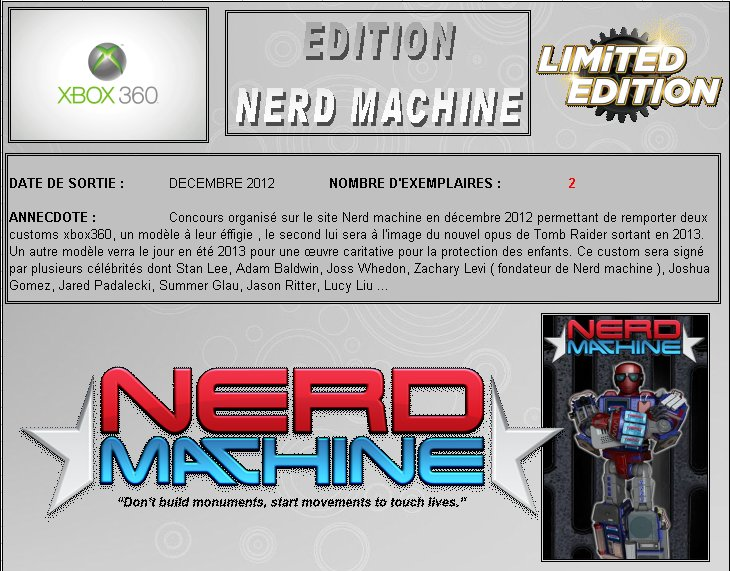 XBOX 360 : Edition NERD MACHINE Nerd_m10
