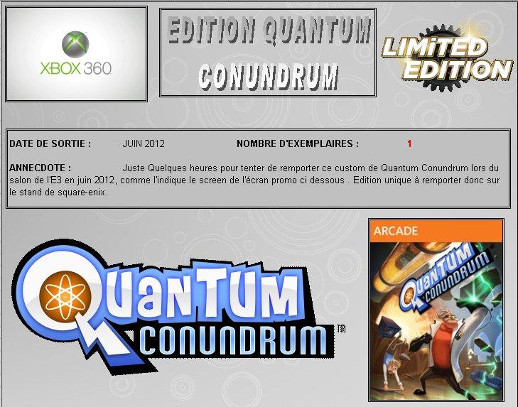 XBOX 360 : Edition QUANTUM CONUNDRUM Quantu10