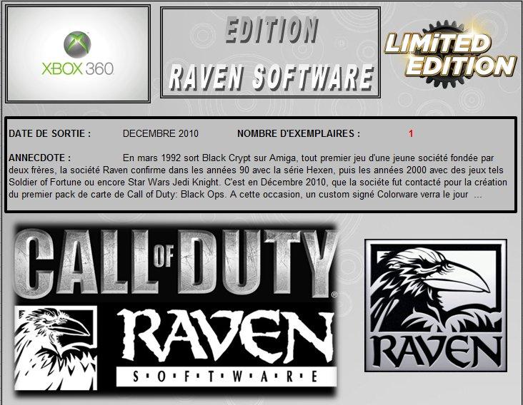 XBOX 360 : Edition RAVEN SOFTWARE Raven_10