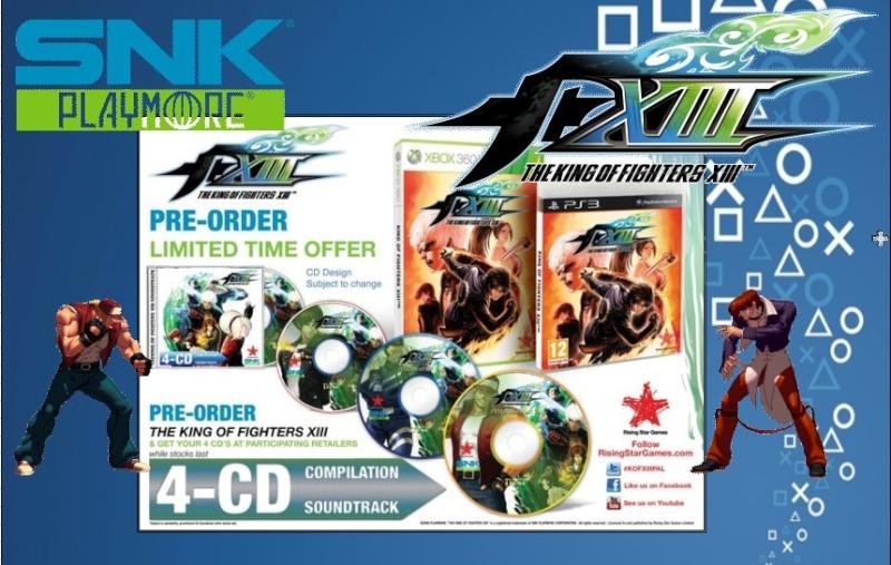 PLAYSTATION 3 : Edition SNK / KOF  Snk_0410