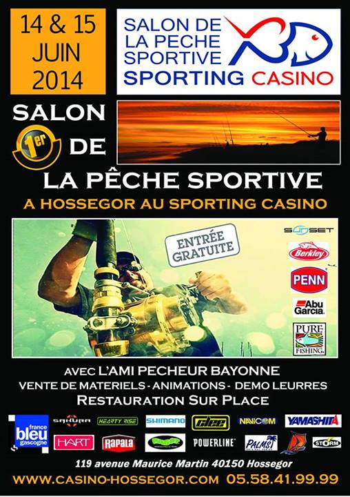 Salon de la peche sportive à Hossegor 10401410