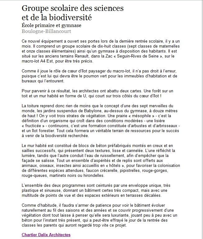 Groupe scolaire des Sciences et de la Biodiversité : informations et photos - Page 2 Clipbo56