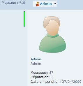 Messages sur le forum Clipbo85