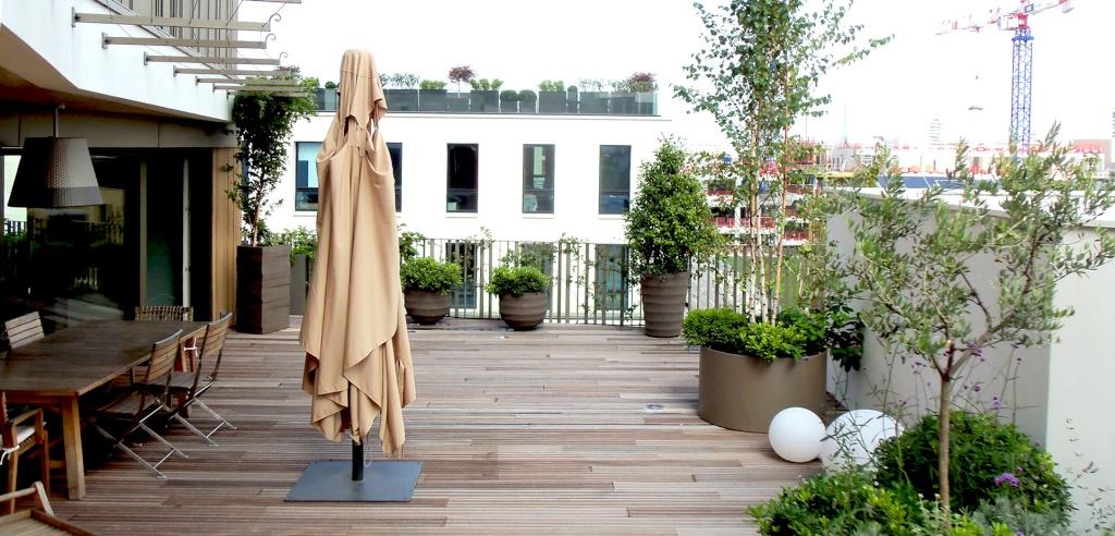 Aménagement des balcons et terrasses Paysag10