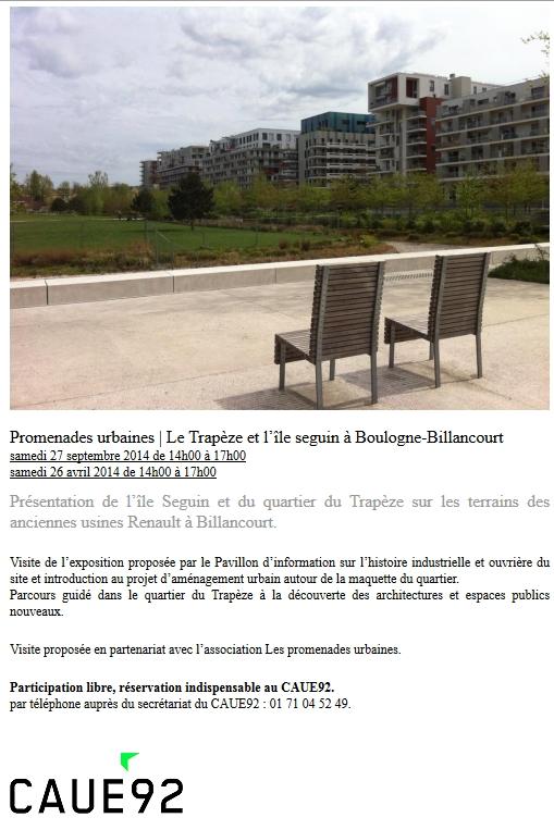 Promenades / Visites du trapèze et de l'île Seguin - Page 2 Promen10