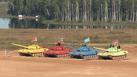Biathlon en char d'assaut en Russie 1210