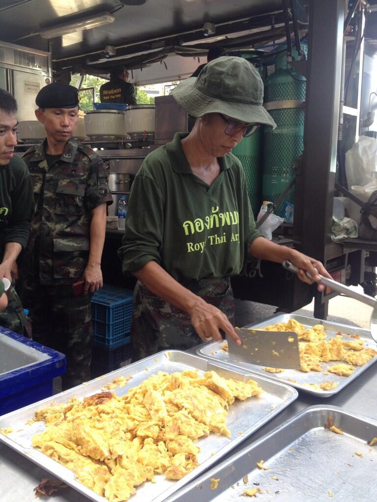 Loi martiale en Thailande Armee10