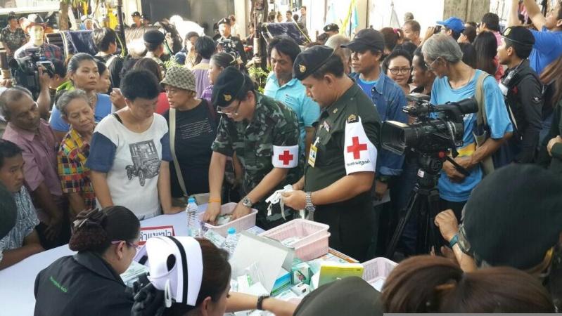 Loi martiale en Thailande Armee210