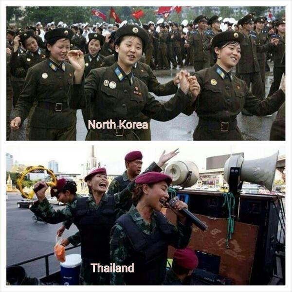 Loi martiale en Thailande Coreet10