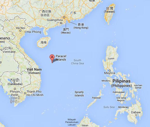 La Chine accusée d'avoir coulé un bateau de pêche vietnamien Parace10