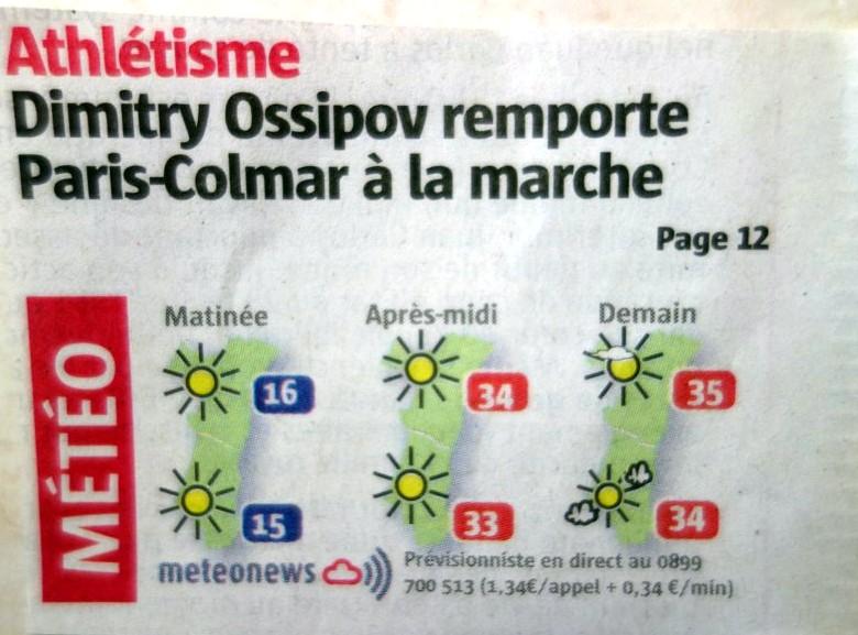 PARIS COLMAR 2014 LES TITRES DE LA PRESSE EN ALSACE Paris_11