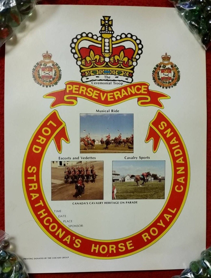 1989 Lord Strathconas Horse posters 10650610