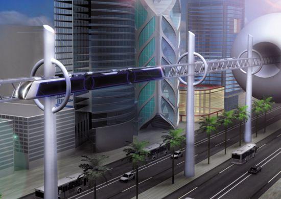 La Technologie et les Moyens de Transports Metro-10