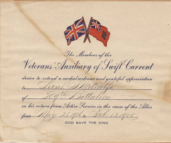 SWIFT CURRENT WELCOME HOME CERTIFICATE Swift_10
