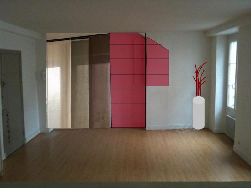 stunning dressing avec panneaux japonais contemporary. Black Bedroom Furniture Sets. Home Design Ideas
