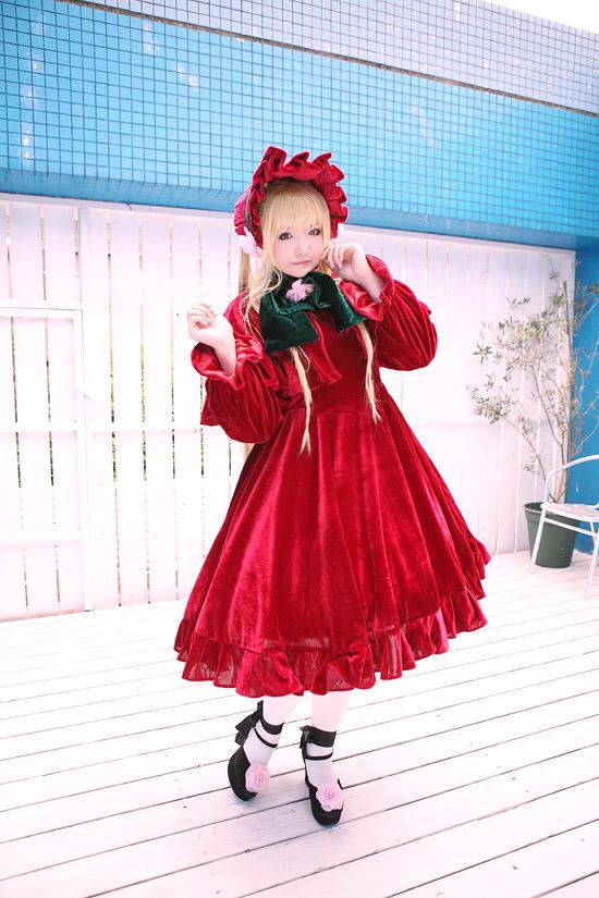 Cosplay Femme. Shinku10