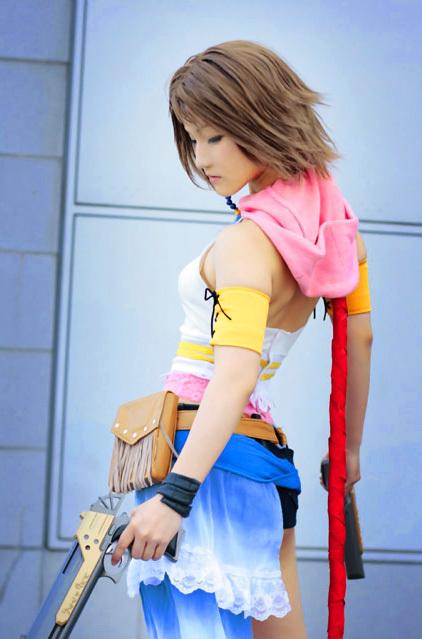 Cosplay Femme. Yuna_c10