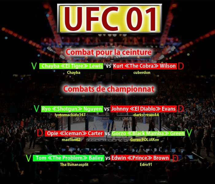 UFC 01 [Terminé] - Page 2 Ufc_0116