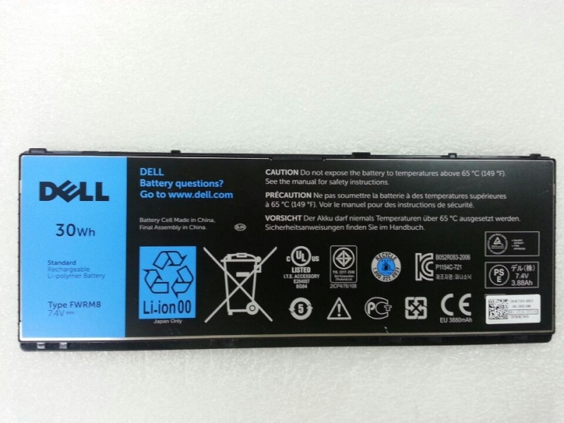Dell Latitude 10 Tablet Battery 1VH6G 1210