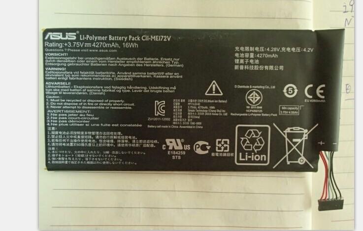 Asus MeMo Pad ME172V Battery CII-ME172v 1218