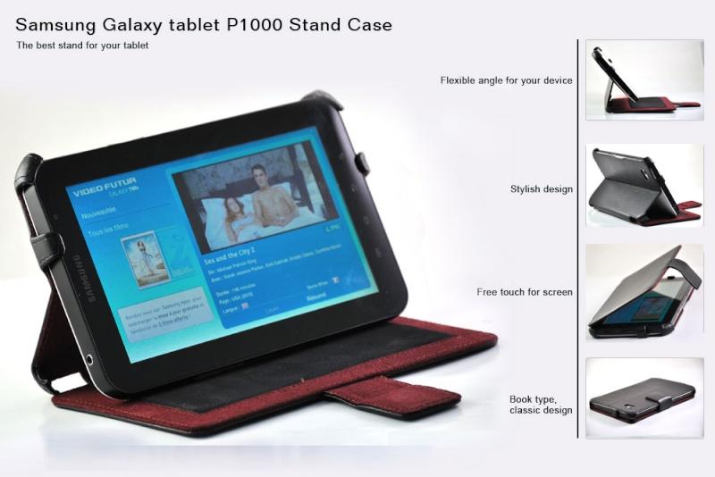 Samsung Galaxy Tab P1000 Stand Case Aazaas12