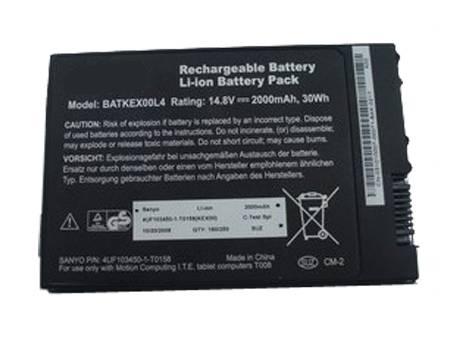 Motion Tablet PC J3400 T008 Battery BATKEX00L4 Batkex10