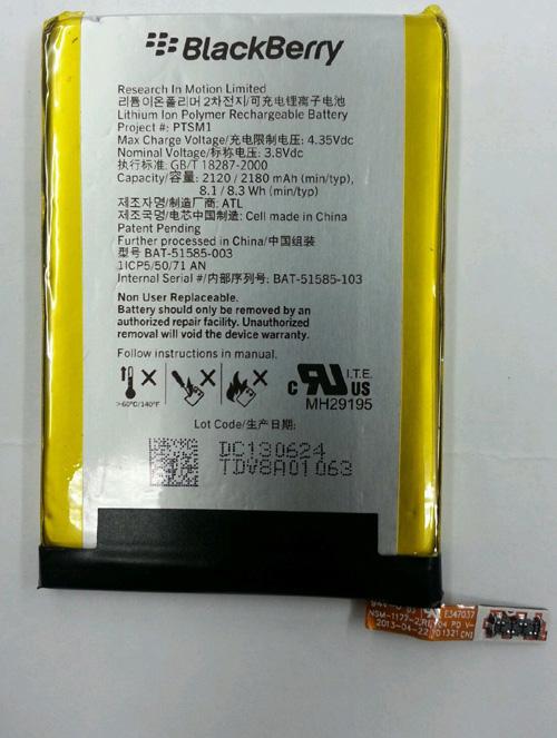 Blackberry Q5 Battery PTS-M1 BAT-51585-103 Bb_q510
