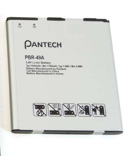 Pantech Flex P8010 Battery PBR-49A Flex10